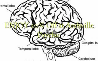 НАСЛАЖДАЙТЕ 20% Off в Archville Psychic