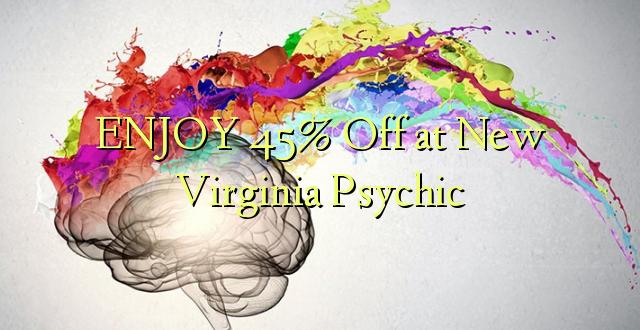 Furahia 45% Toka kwenye New Psychic ya Virginia