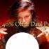Enjoy 40% Off at Datil Psychic