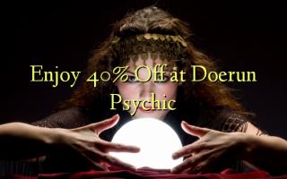 Получите скидку 40% на Doerun Psychic