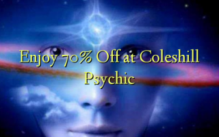 Enjoy 70% Off at Coleshill Psychic
