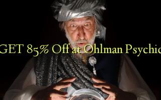 GET 85% Off в Ohlman Psychic