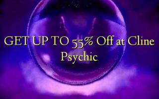 Pata hadi 55% Omba kwenye Cline Psychic