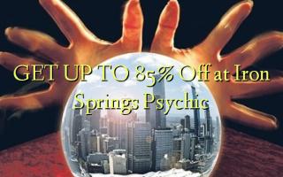 ПОЛУЧАЙТЕ К 85% Off в Iron Springs Psychic