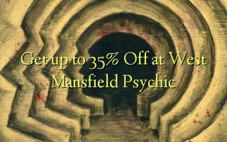 Получите до 35% Off в West Mansfield Psychic