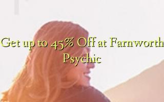 Få op til 45% Off på Farnworth Psychic