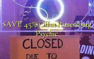 SAVE 45% Off at Rimersburg Psychic