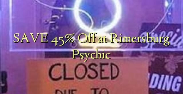 SAVE 45% Toka kwenye Rimersburg Psychic