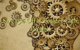 Gem 15% Off på Country Club Psychic