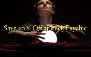 Gem 20% Off ved Luck Psychic