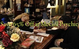 Save 65% Off at McGill Psychic