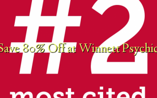 Сохранить 80% Off в Winnett Psychic