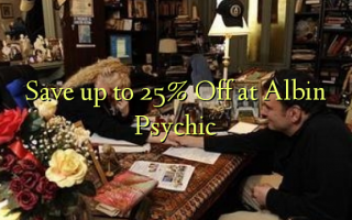 Save up to 25% Off at Albin Psychic