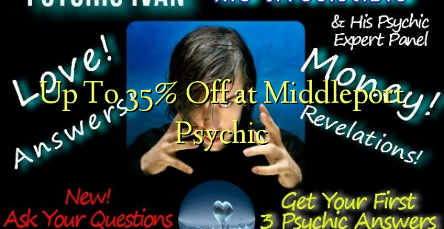 Hadi kwa 35% Ondoa kwenye Middleport Psychic