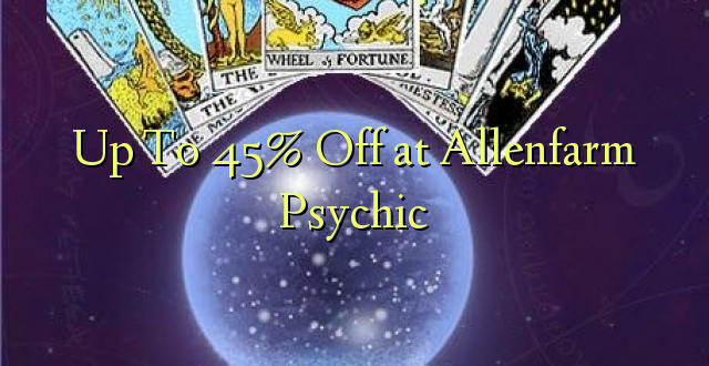 Up To 45% Off at Allenfarm Psychic