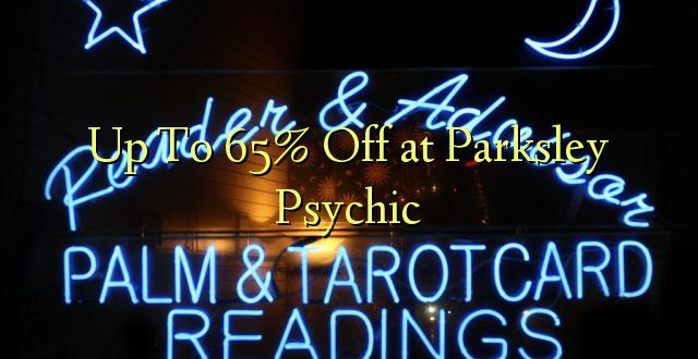 Hadi Kwa 65% Toka kwenye Parksley Psychic