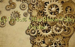 Op til 80% Off ved Rheem Valley Psychic