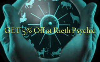 GET 5% Off på Rieth Psychic