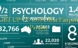 FÅ OP TIL 10% Off på Fairport Psychic