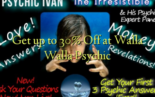 Get up to 30% Off at Walla Walla Psychic