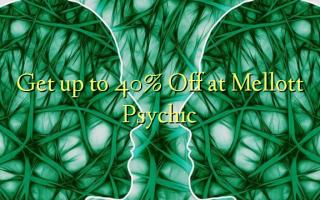 Få op til 40% Off ved Mellott Psychic