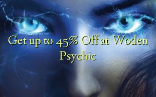 Få op til 45% Off på Woden Psychic