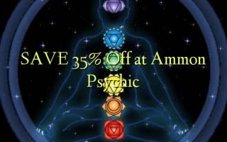 Gem 35% Off ved Ammon Psychic