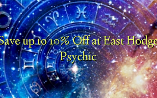 Save up to 10% Off at East Hodge Psychic