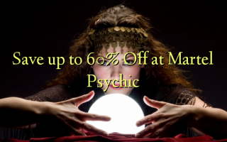 Save up to 60% Off at Martel Psychic
