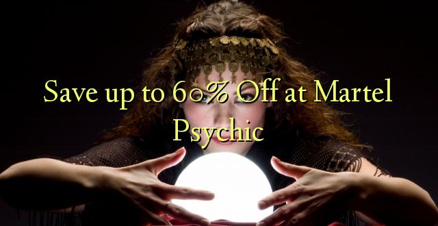 Сэкономьте до 60% Off at Martel Psychic