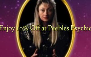 Получите скидку 10% на Peebles Psychic