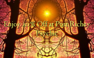 Nyd 20% Off ved Port Richey Psychic