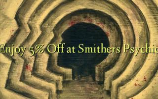 Получите скидку 5% на Smithers Psychic
