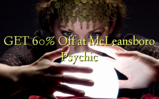 GET 60% Off at McLeansboro Psychic