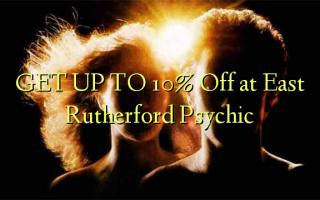 FÅ OP TIL 10% Off på East Rutherford Psychic