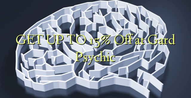 GET UP TO 15% Off at Gard Psychic