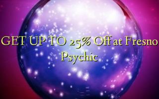 FÅ OP TIL 25% Off på Fresno Psychic