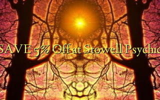 Gem 5% Off ved Stowell Psychic
