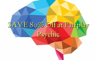SAVE 80% Off at Fairplay Psychic