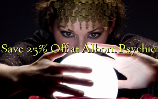 Save 25% Off at Alborn Psychic