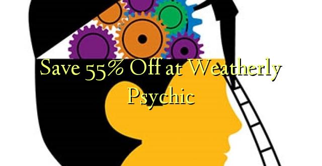 Скидка 55% на Weatherly Psychic