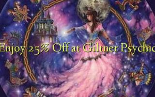 Nyd 25% Off på Giltner Psychic