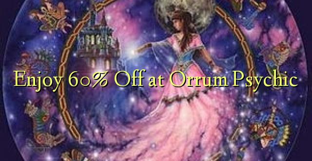 Enjoy 60% Off at Orrum Psychic