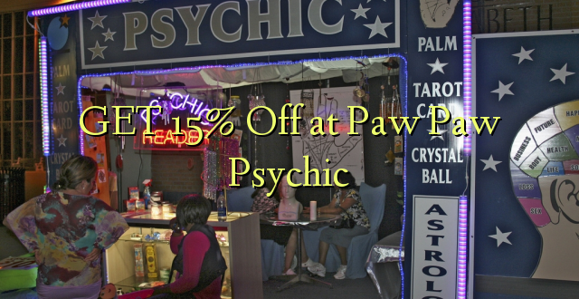 GET 15% Off at Paw Paw Psychic