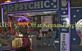 GET 50% Off at Keenan Psychic