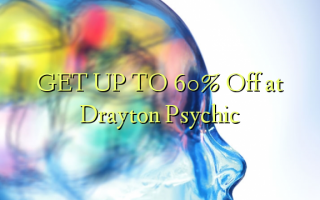 GET UP TO 60% Off at Drayton Psychic