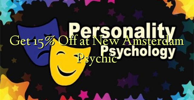 Få 15% Off på New Amsterdam Psychic