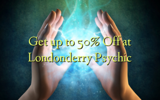 Get up to 50% Off at Londonderry Psychic