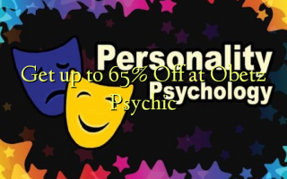Get up to 65% Off at Obetz Psychic
