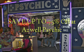 SAVE UP TO 75% Off at Azwell Psychic